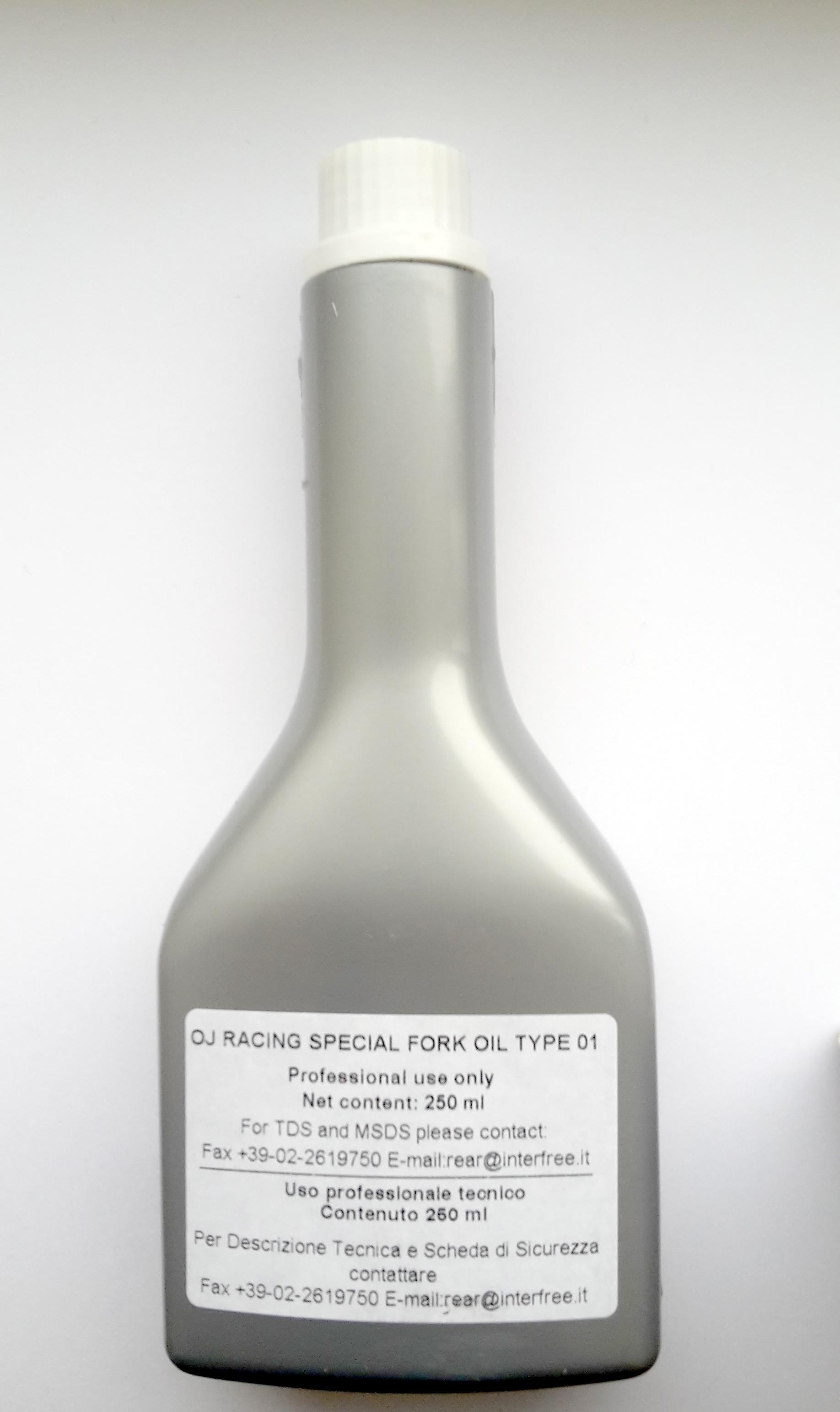 Fork Oil  - olej 'OJ' pro patrony vidlic FORMULA 250ml