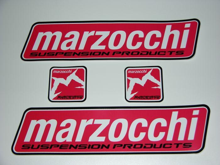 Samolepy na Auto 2 ks 60 * 16 a 9 * 9 cm Marzocchi