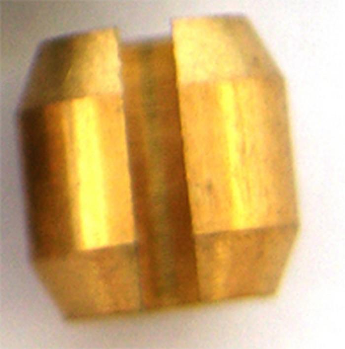 Olivka koncovky EVO 9,5 mosazná rozpěrka