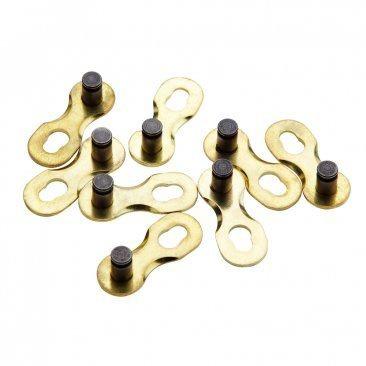 Spojka řetězu 9 převodů SRAM PowerLink Gold, zlatá, nebalená 1 ks