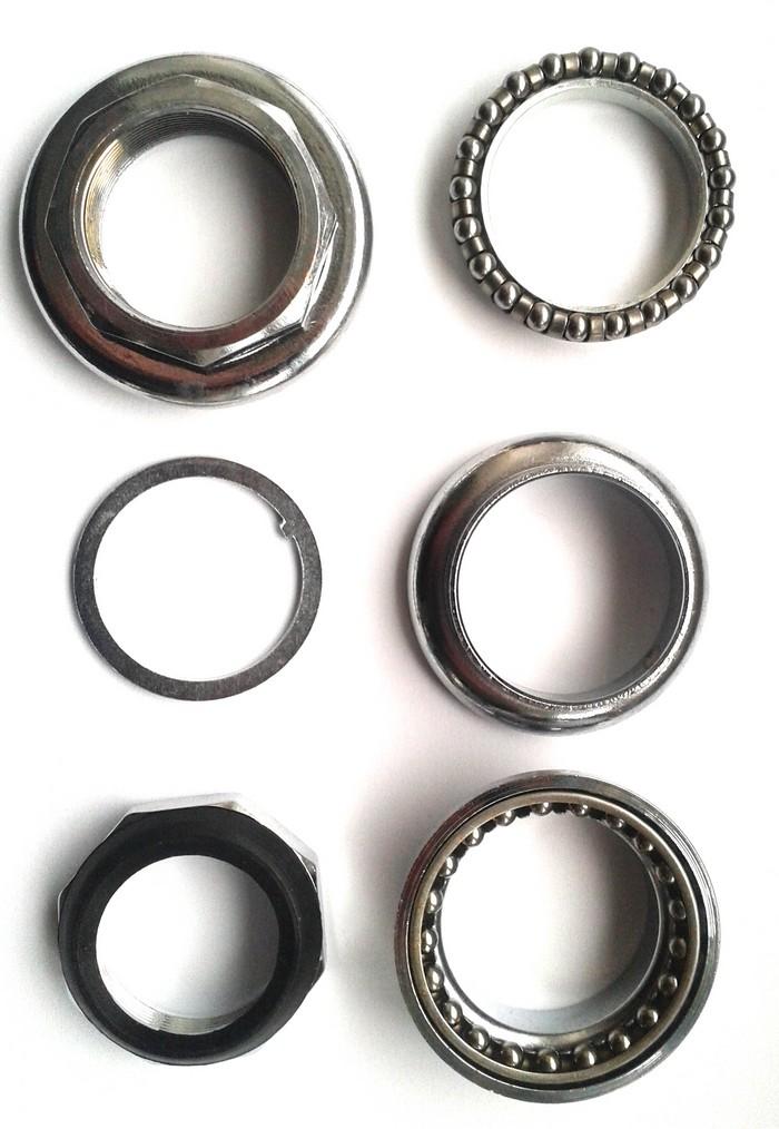 Hlavové sl. MOUNTY, Rám 34 / 34 mm, Krk 28,6 / 30 mm závitové ocelové