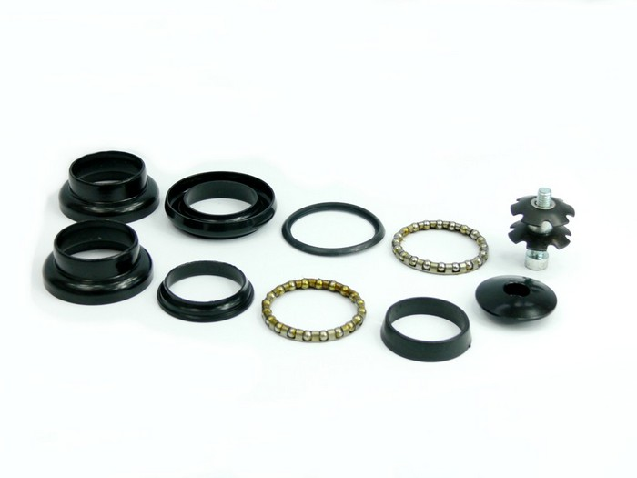 Hlavové sl. XR-V2, Rám 34 / 34 mm, Krk 28,6 / 30 mm ahead, ocel, černé