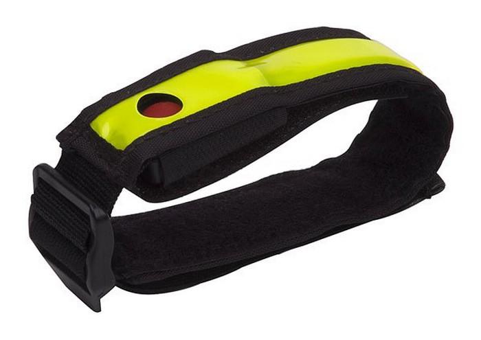 Bezpečnostní reflexní pásek s blikačkou SMART