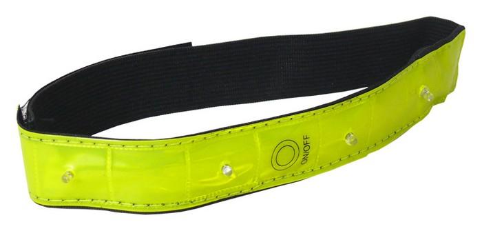 Bezpečnostní reflexní pásek s blikačkou LOGIC  JY-1008