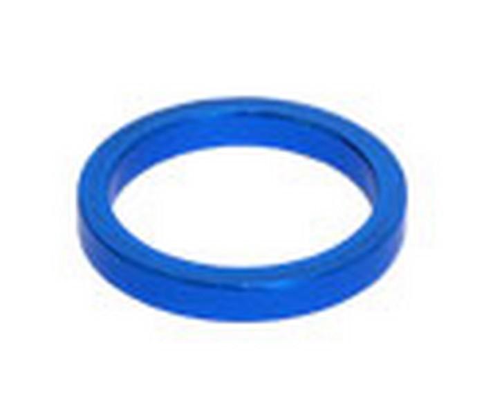 Spacer ALU modrý 1,1/8'  výška 5 mm