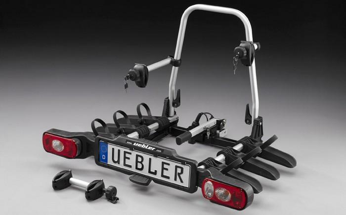 Nosič na kouli UEBLER X31 S Nano na 3 kola, pákový, sklopný, skládací