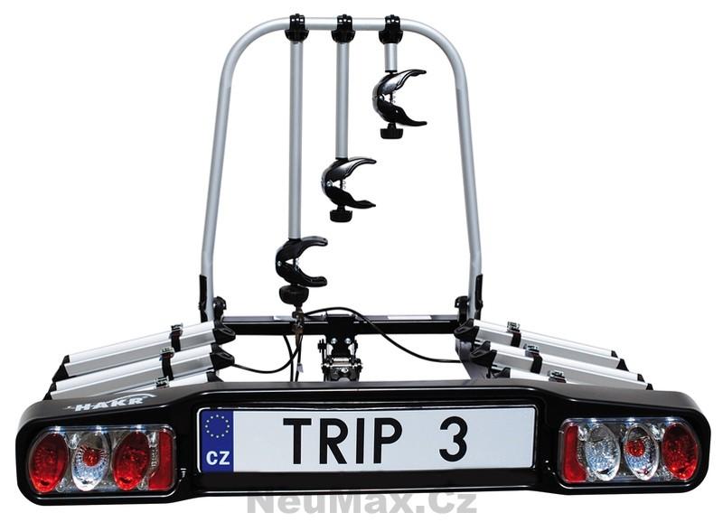 Nosič na kouli Hakr TRIP 3 na 3 kola, pákový, 'sklopný'