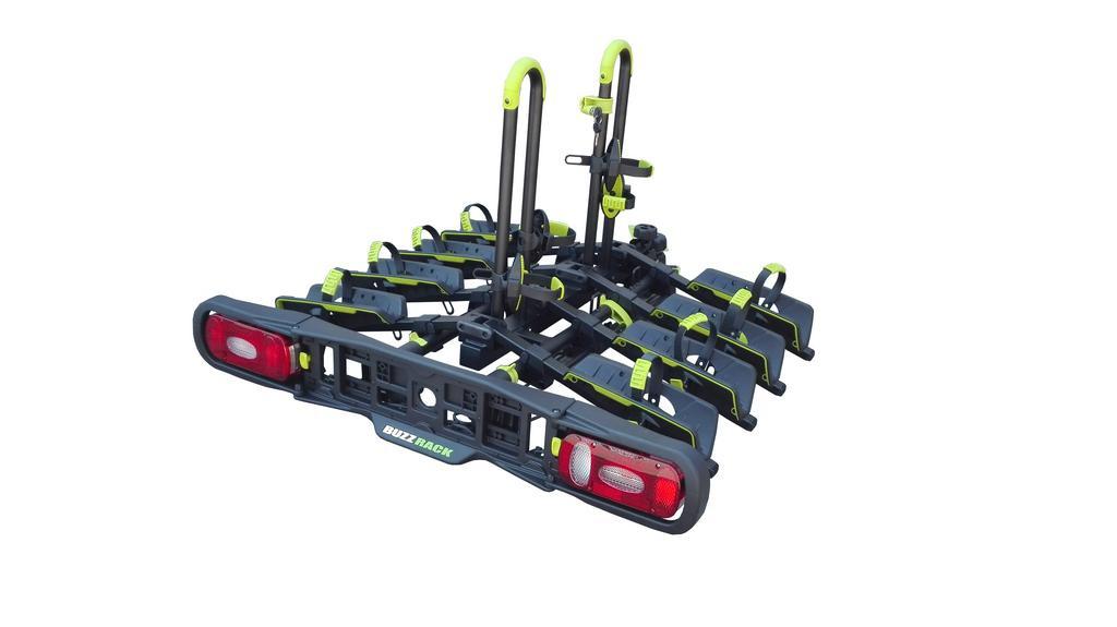Nosič na kouli BuzzRack WING 4 Compact na 4 kola, utahovací, sklopný, skládací