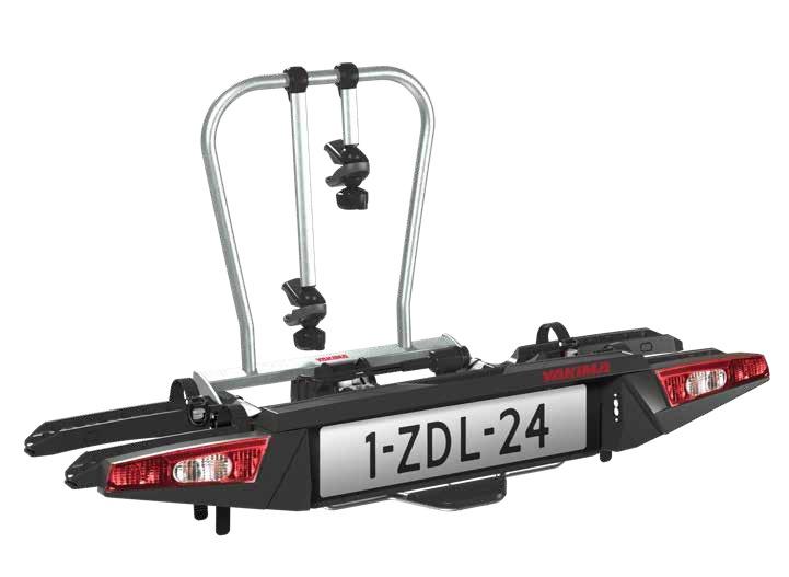 Nosič na kouli YAKIMA FoldClick 2 na 2 kola, samosvorný, sklopný, skládací