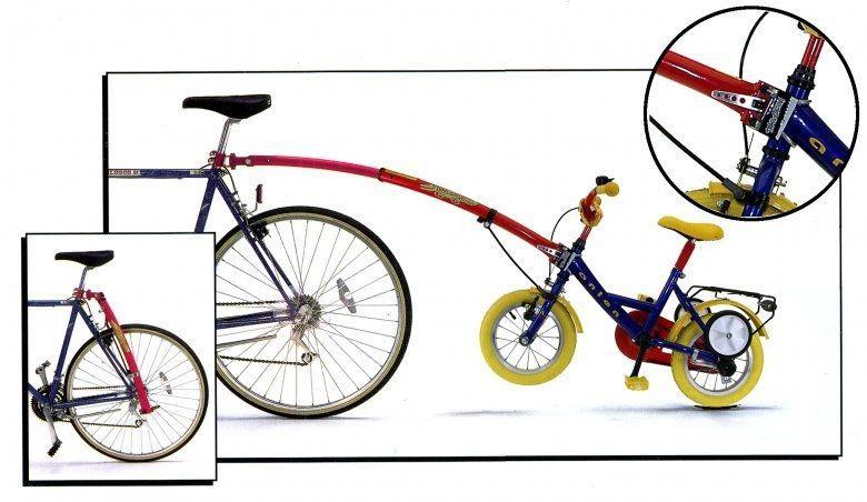Vodící tyč pro spojení dětského kola GATOR vlek