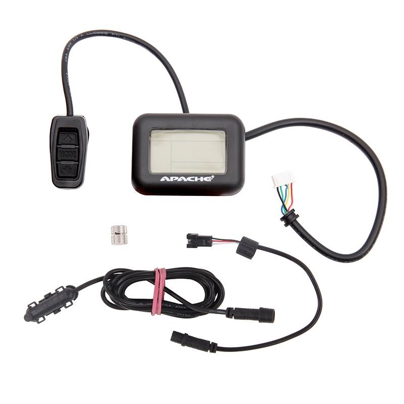 Displej LCD elektrosady Apache 2014