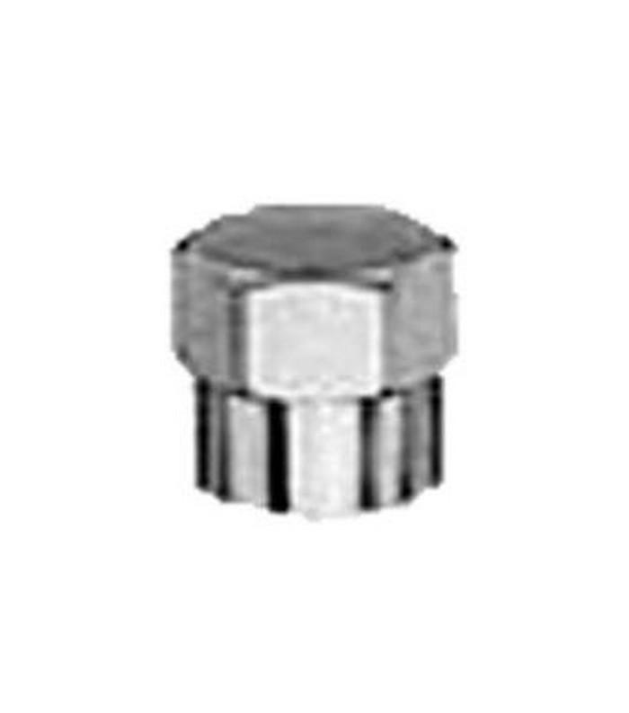 Čepička autoventilku kovová chromová šetrihranná CT Ferdus