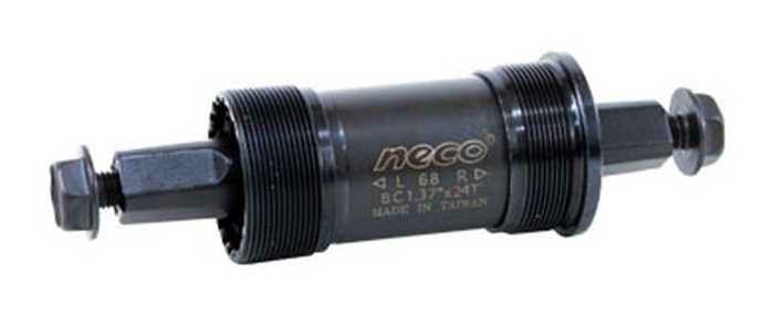 Osa středová BSA 118mm NECO čtyřhran B910
