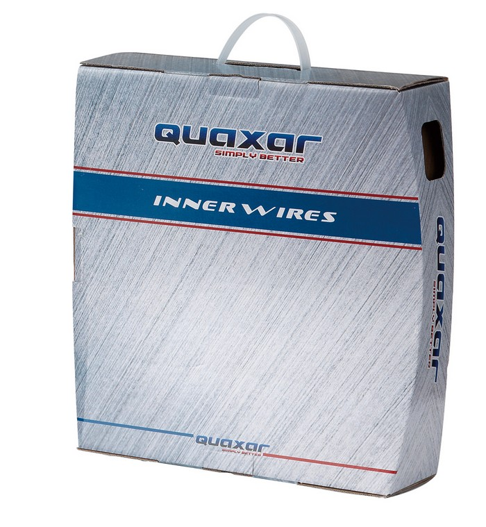Lanko brzdy MTB nerezové 1,7m Quaxar