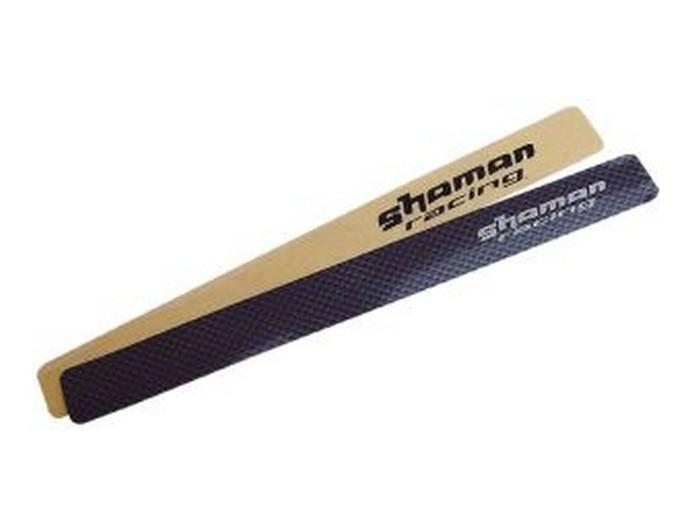 Samolepa 25x240mm pod řetěz carbon Shaman 1-ks