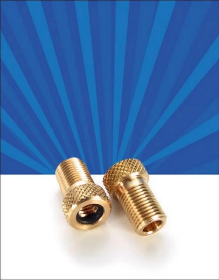 Redukce ventilku z galuskového na autoventil Airbone mosaz 1 ks